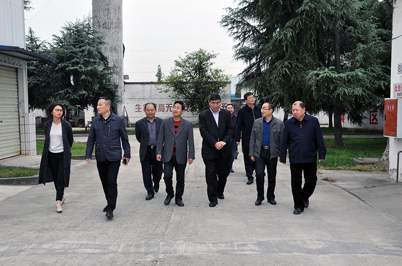 四川省核工业地质局局长刘健同志到我公司调研